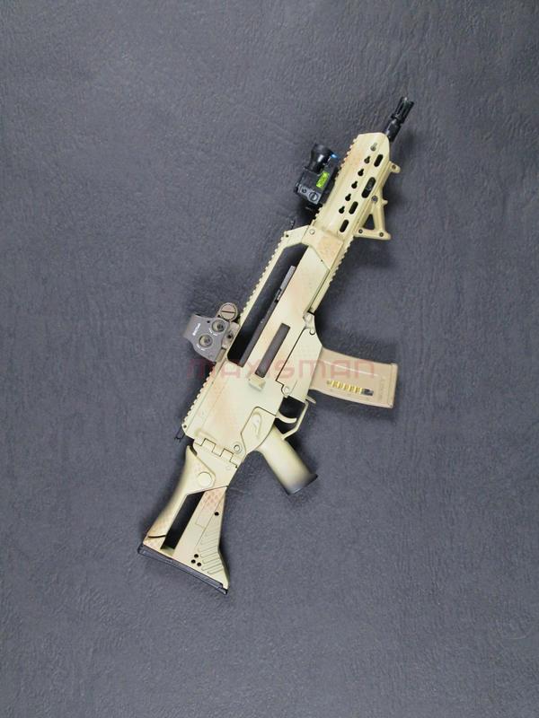 1/6 DAMTOYS G36K A4 步槍組