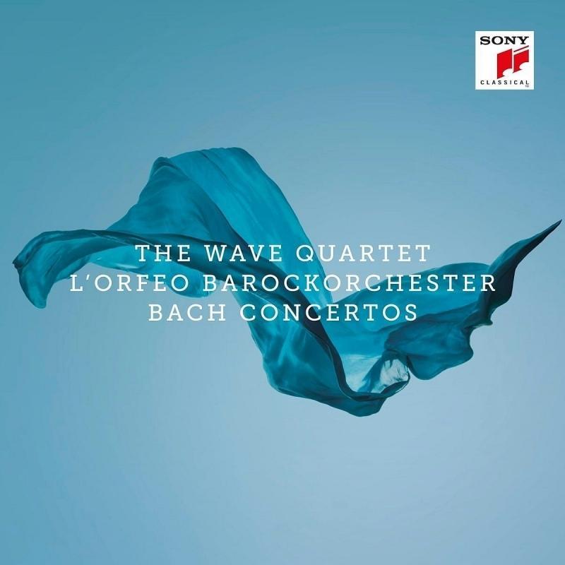 The Wave Quartet 木琴浪潮四重奏 / 巴哈協奏曲CD,進口全新106/9/8發行