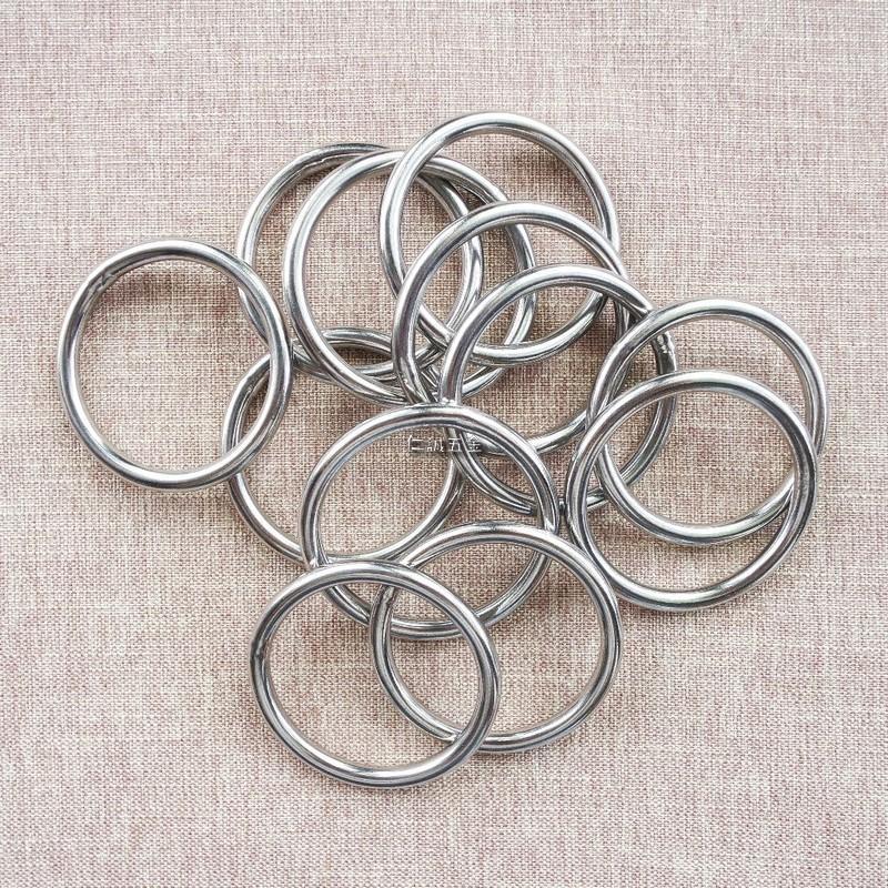 「仁誠五金」正台灣製 4mm 內徑35mm 白鐵氬焊圓環 YS317 氬銲圓型不鏽鋼圈  圓形不銹鋼圓圈 ST