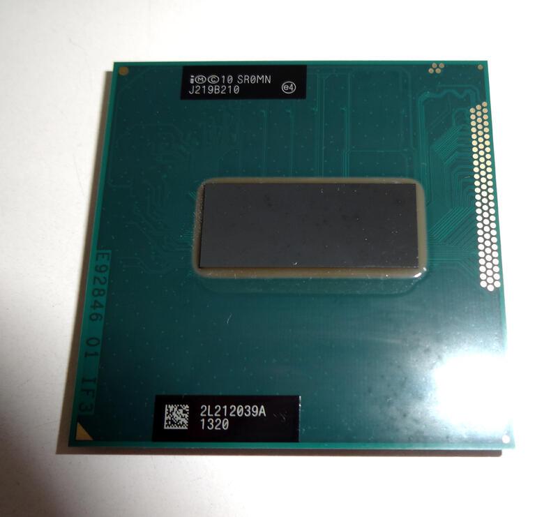 i7-3610QM 2.3 ~ 3.3G / 6M / 4C8T 筆記型電腦用 售出不退換