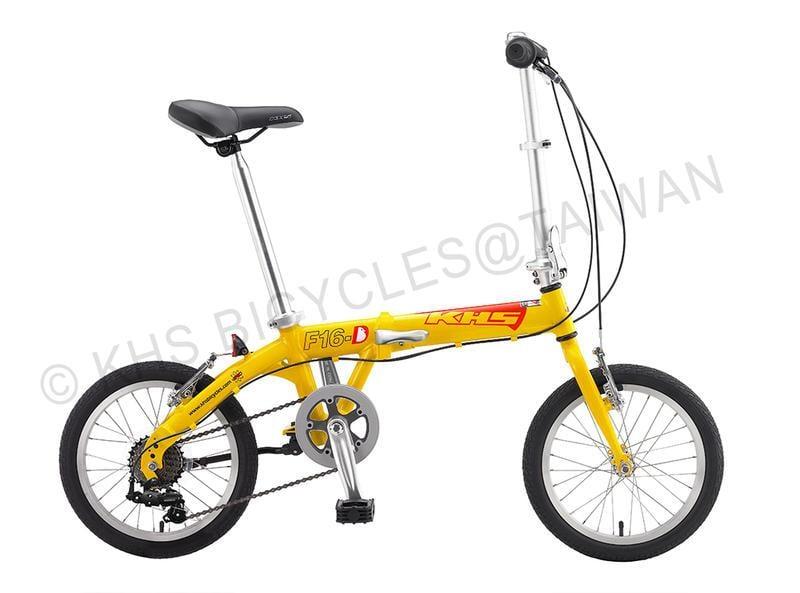 現貨供應 組裝完現貨 組裝完成  F16-D 功學社摺疊車 (自行車/單車/腳踏車/變速車)F16D