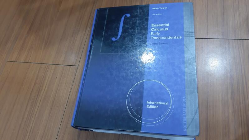 【Essential Calculus: Early Transcendentals 2e】9781133492573