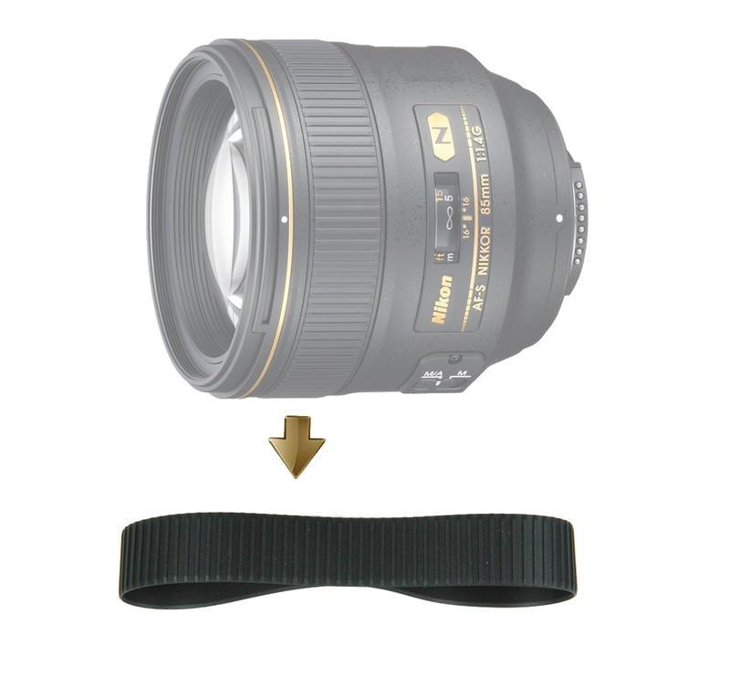 【NRC】Focus Rubber Ring for Nikon 85mm F1.4G 對焦環 對焦皮