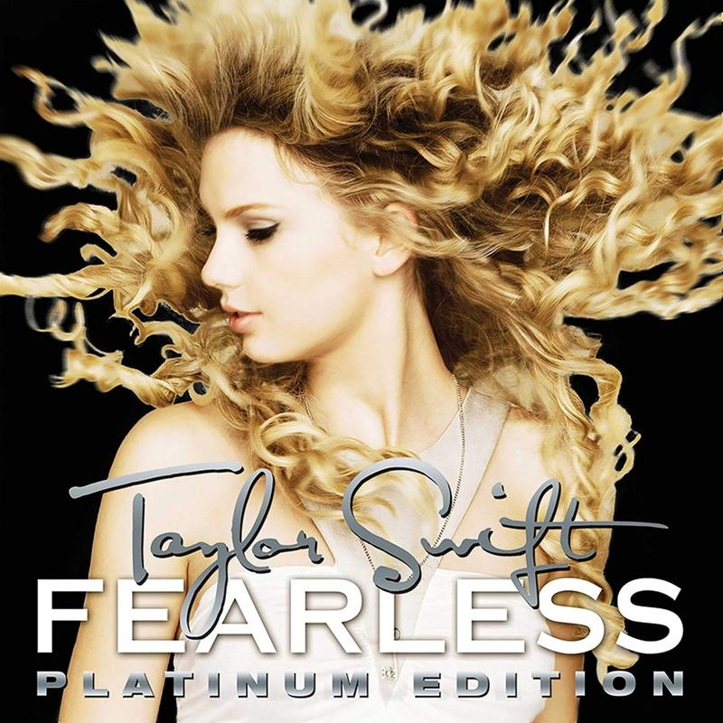 Taylor Swift 泰勒絲 Fearless 無懼的愛 Platinum Edition 歐版 黑膠