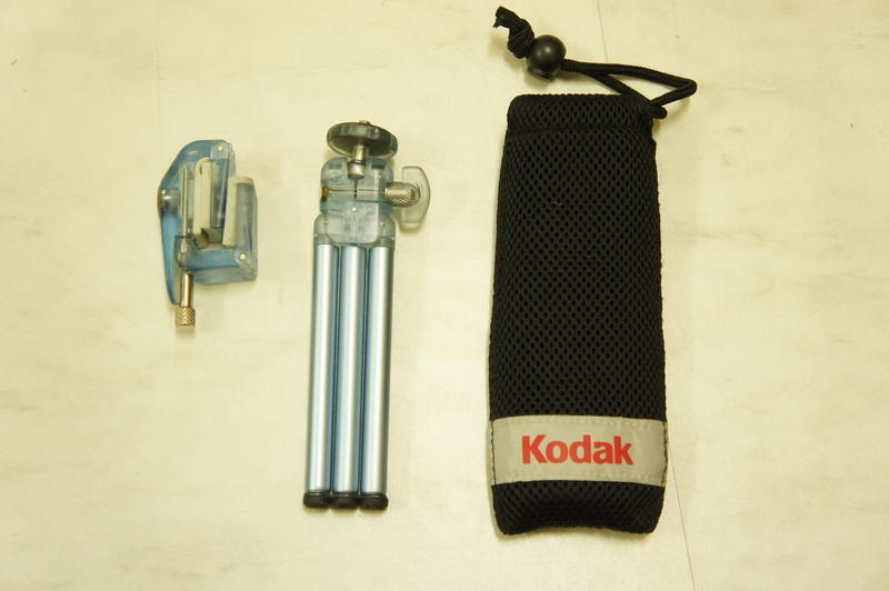 Kodak 桌上型三角架 具夾具 可夾住相機或手機或其他物品