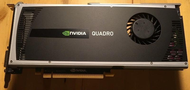 NVidia Quadro 4000 2GB GDDR5 PCIE , 專業繪圖卡