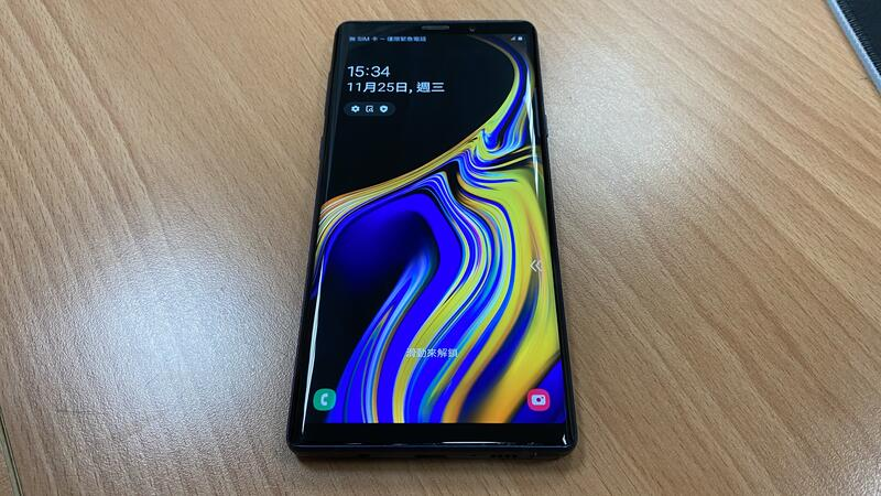 三星 note系列 空機 Samsung Galaxy note 9+ 湛海藍 6G/128G 二手 9.9成新