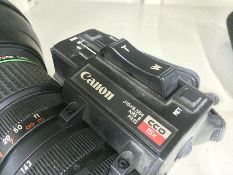 Canon TV Zoom Lens 9.5-143mm 1:1.8 J15x9.5B4 KBS PX12 攝影機鏡頭