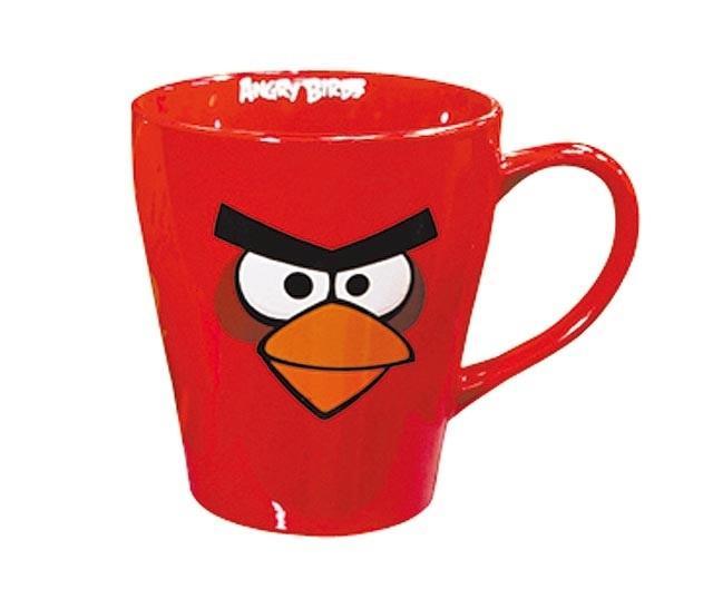 憤怒鳥馬克杯 紅 黑
