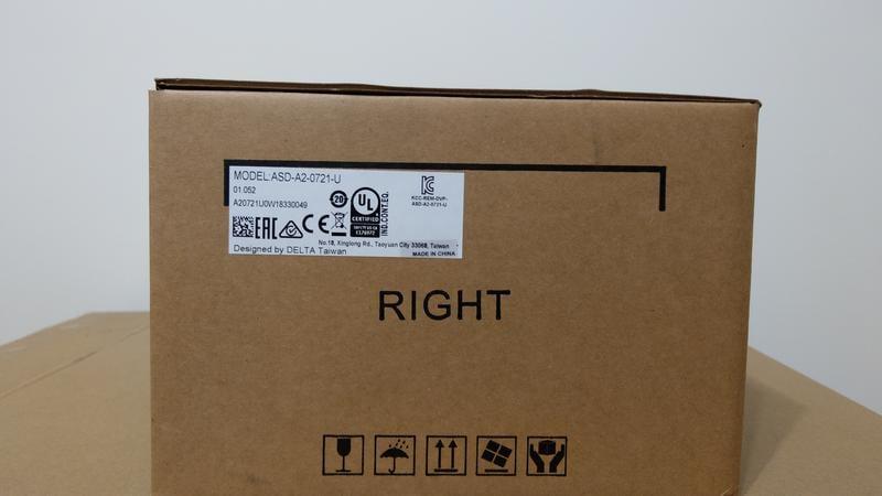 台達伺服驅動器ASD-A2-0721-U