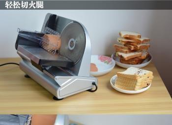 家用電動羊肉片小型商用肥牛卷土豆刨凍牛肉吐司面包切肉機  igo