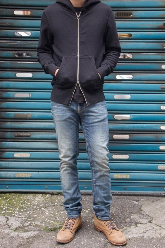 【BDD荷蘭職人品牌】BS-04 Zip Hoodie 雙向厚磅拉鍊帽T XS-XL