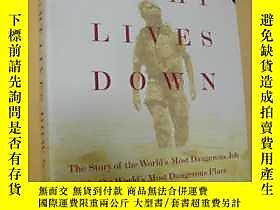 古文物英文原版罕見Eight Lives Down: The Story of the World's Most Dan