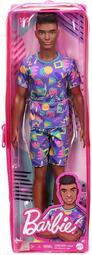Ken & Barbie #GRB87 _ 創意時尚系列芭比娃娃 _ 2021 時尚達人 - 高矮胖瘦162號 高個黑肯