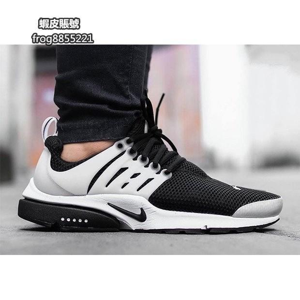 NIKE AIR PRESTO 黑白 奧利奧 輕量 透氣 網布 刺繡 魚骨 慢跑鞋 男女鞋