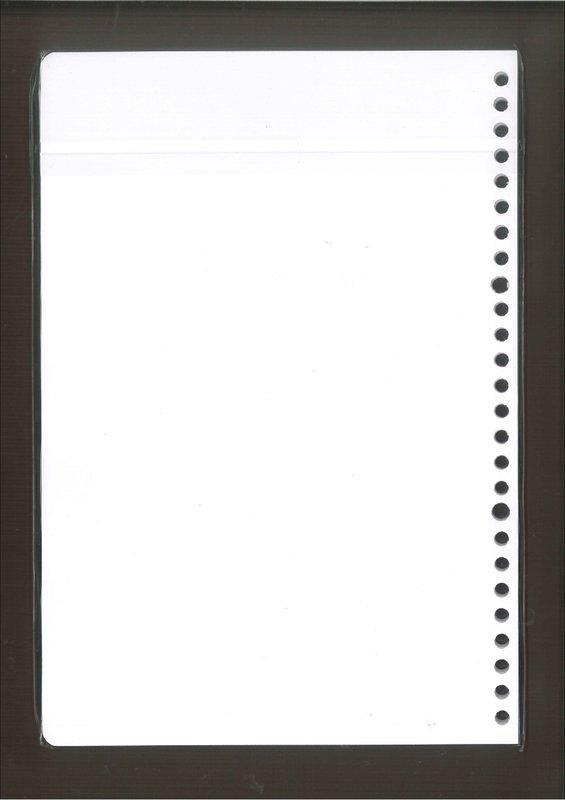 ☆雅興庭文具☆~立威 ABC-1912 空白內頁 26孔活頁紙 B5 (75張入) / 包~超低優惠價