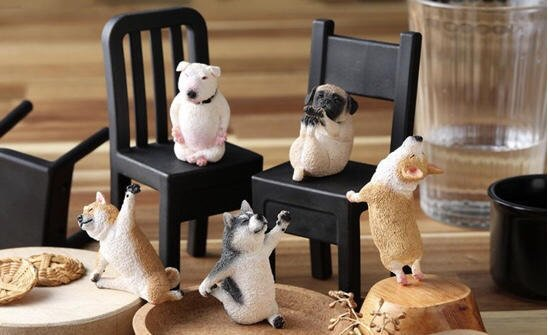 《樂達》特價 現貨 代理版 研達 盒玩 Animal Life 狗瑜珈寶寶 全5種 中盒8入 708544