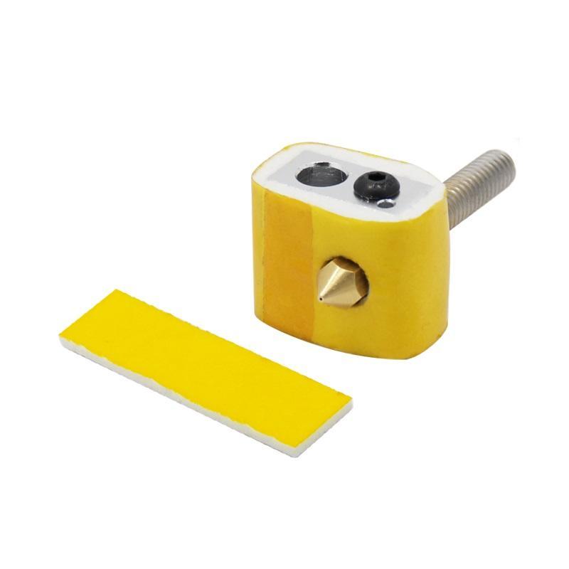 【創意3D列印】加熱快保溫棉噴頭隔熱makerbot ultimaker耐高溫棉