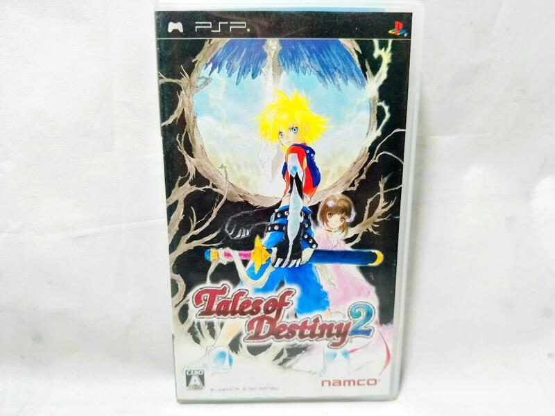 【奇奇怪界】SONY PlayStation PSP 時空幻境 命運傳奇2 Tales of Destiny 2