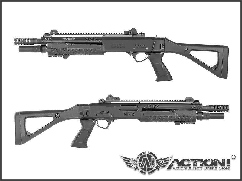 """【ACTION!】VFC - FABARM STF/12 Compact 11"""" 戰術折托版 瓦斯霰彈槍《訂購》"""