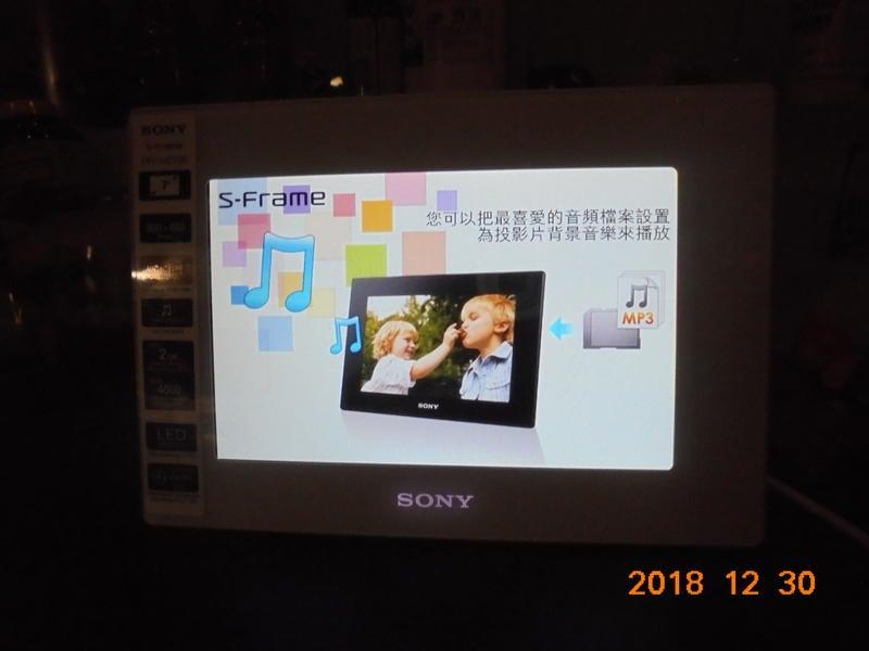 Sony S-Frame DPF-HD700數位鄉框