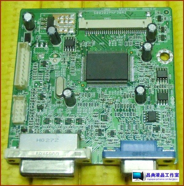 《晶典液晶工作室》@ViewSonic VX2250wm-LED套件~492A00721300R驅動板(拆機良品)