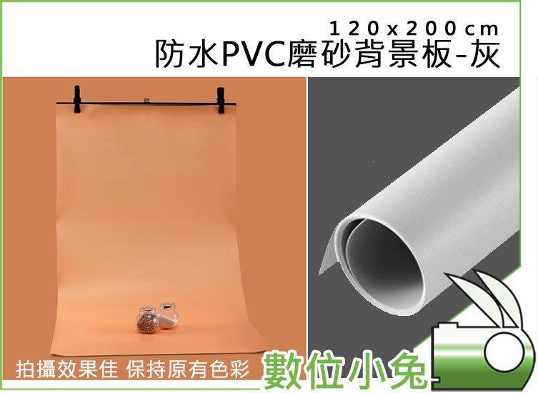 免睡攝影【防水PVC磨砂背景板 120x200cm 灰】人像 商品 攝影棚 背景紙 防塵 網拍 背景布 可擦拭