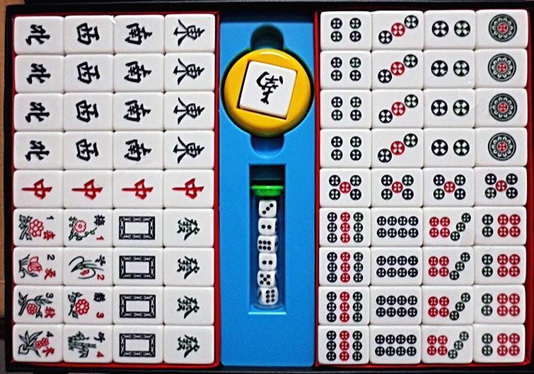 榮冠34mm大廣東竹絲麻將 翠綠色 適益智遊戲、教學…等-【便利網】