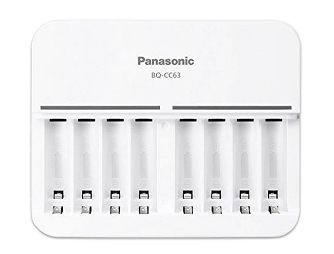 Panasonic BQCC63 國際牌 eneloop 智控型8槽充電器 3號4號鎳氫電池座充 公司貨