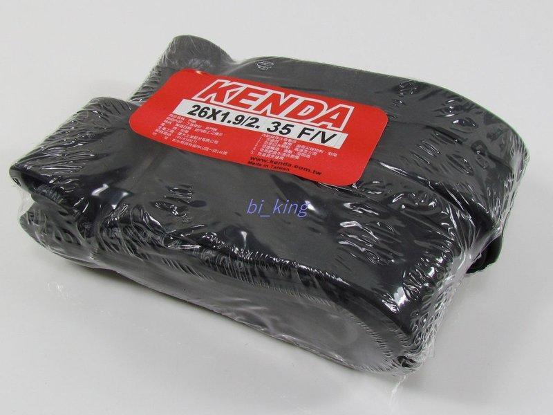【瘋拜客】KENDA 建大 26吋  26x1.9/2.35法嘴 登山車內胎 丁基橡膠 (NT61D)