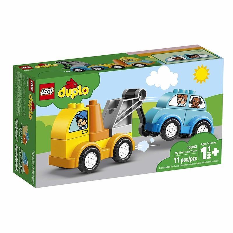 正版公司貨 LEGO 樂高 DUPLO 得寶系列 LEGO 10883 我的第一輛拖車