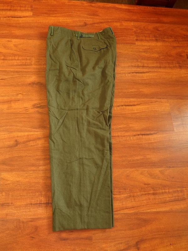 美軍 M1951 羊毛 野戰 長褲 (軍裝 古著 外套 復古 軍服 韓戰