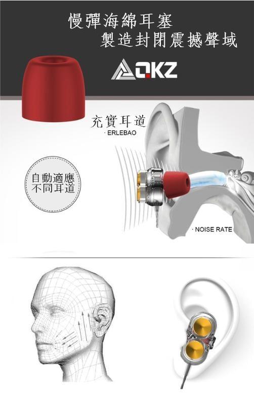 (送環保吸管)QKZ / 霆聲 KD7 重低音炮四核耳機入耳式手機K歌掛耳式雙動圈HiFi