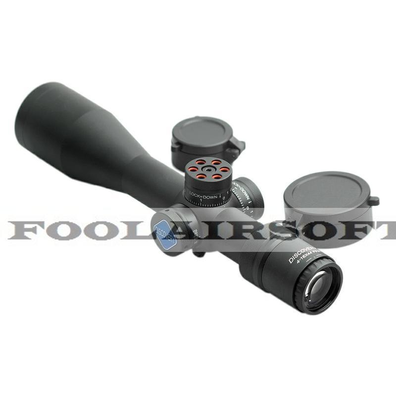 <傻瓜二館>現貨 DISCOVERY 發現者 VT-3 4-16X44 SF FFP 狙擊鏡 短版 瓦斯 玩具 BB彈