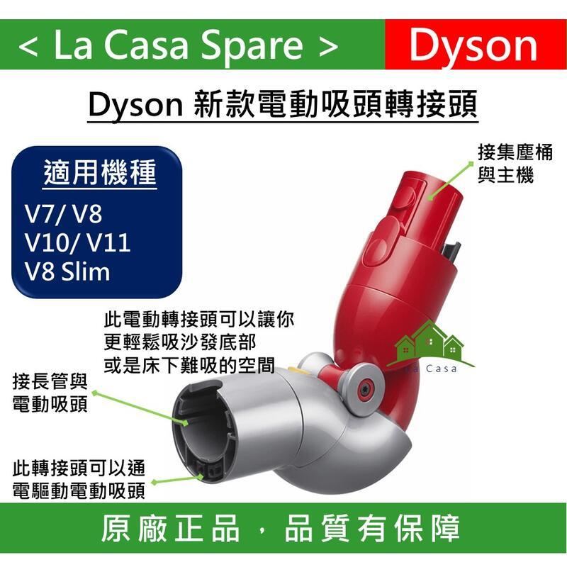 My Dyson 電動轉接頭 V7 V8 V10 V11 專用低處地板轉接頭。可拿來吸沙發底部或是床下。