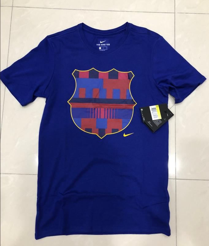 finest selection 0dc88 d0cce Nike X 巴塞隆納 限量聯名 FC BARCELONA 20TH ANNIVERSARY JERSEY S M 短T