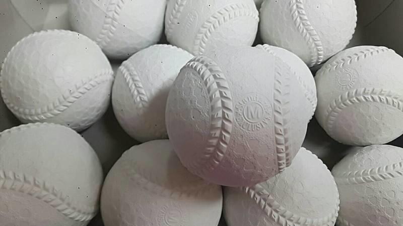 """""""必成體育""""  M BALL日本軟式棒球 M號 配合核銷 NAIGAI  BRETT  FIELDFORCE"""