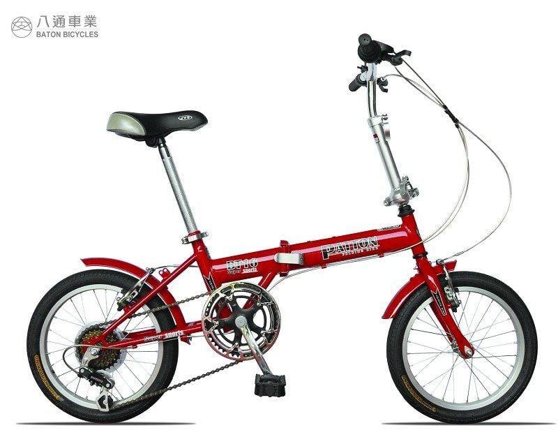 *八通車業*16吋小折 日本SHIMANO 6速摺疊腳踏車 *含運*