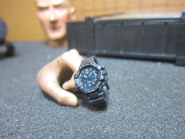 AG3特戰部門 ES法軍1/6軍用指針手錶一支 mini模型