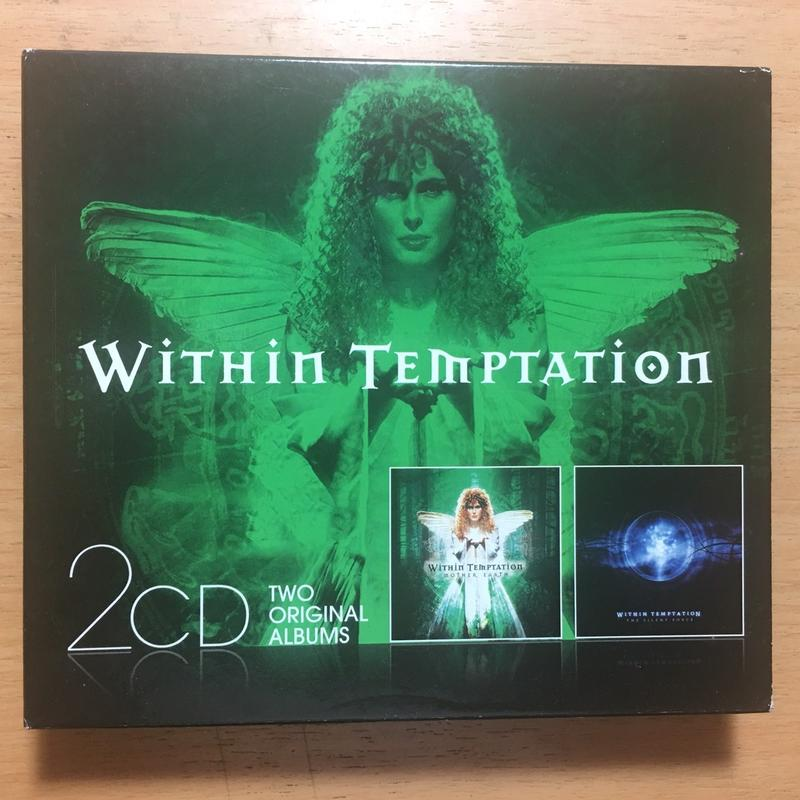 Within Temptation:Mother Earth+The Silent Force 2CD 金屬樂團致命誘惑