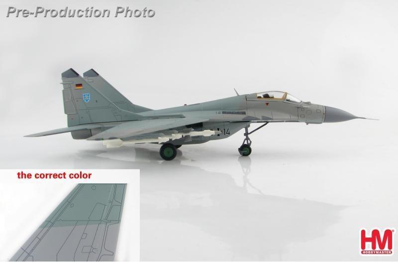 ☆全球防衛雜誌☆全防◆軍機飛行館◆[1/72]HM(HA6503) German Air Force MIG-29A