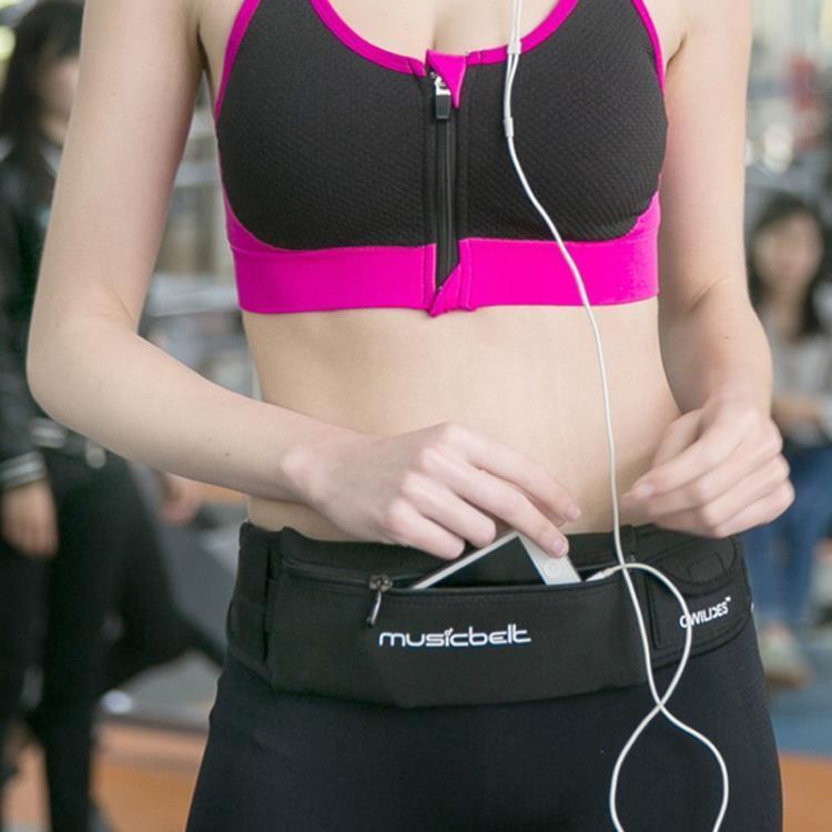 免運 運動腰包 跑步健身多功能手機防水腰包TW