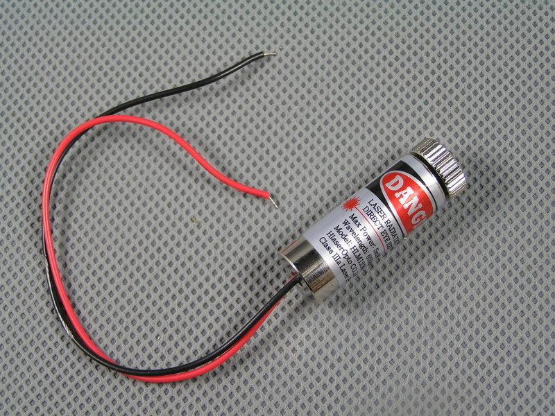 【勁順購物】5mW 雷射頭 (點狀 一字 十字) 雷射筆 雷射光筆 激光筆 可調焦距(E017)