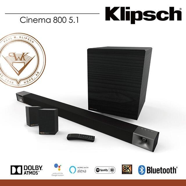 HDMultimedia 台中逢甲-耳機專賣店 Klipsch Cinema 800 SoundBar