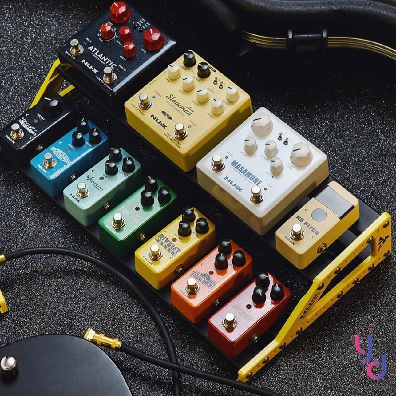【亞都音樂】附魔鬼氈 NUX NPB-L 加大 Bumblebee 雙層 效果器 盤 袋 板 背帶 送集線器 吉他 貝斯