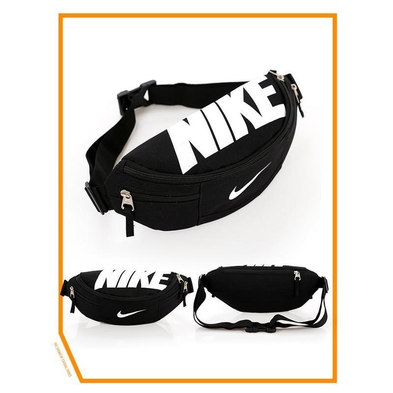 特價 耐克腰包男正品Nike大容量腰包運動多功能斜挎包帆布皮革nike腰包NIKE HOOD WAISTPACK