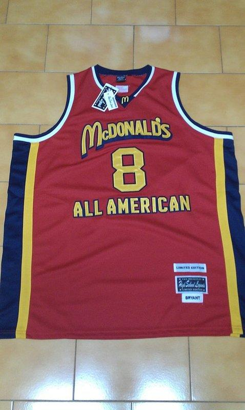 detailed look d14ca 79196 McDonald's All American Game Kobe Bryant Limited Edition 54 ( 全新含吊