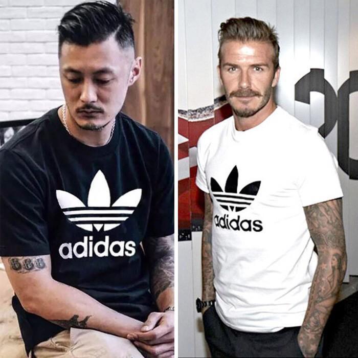 Adidas 2018款 愛迪達 三葉草 運動T恤 純棉短袖T恤 圆领短袖t恤 運動短T