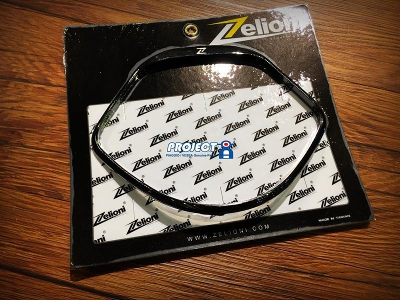 【ProjectA】Zelioni Vespa GTS CNC儀表上蓋 - 黑 LX LT 可改