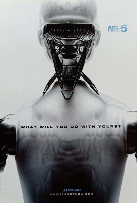 C電影酷卡明信片機械公敵 I, Robot(非總督版)